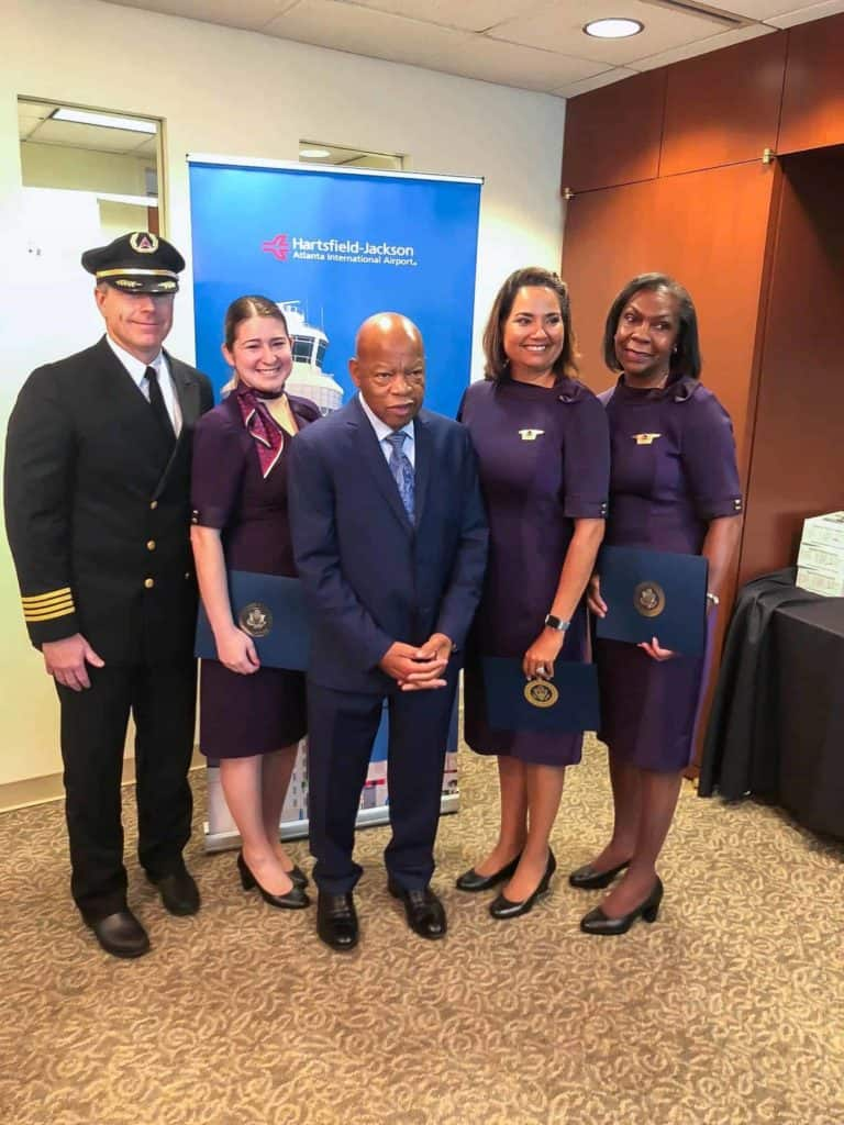 Delta CEO honors Rep. John Lewis with a pledge to continue his legacy