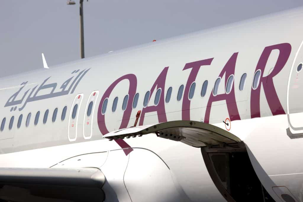 Qatar Airways Airbus A320