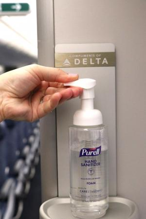 Using Purell on board
