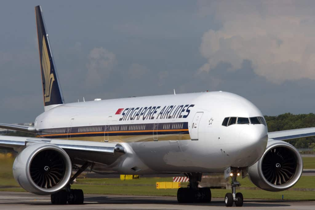 Singapore Airlines B777-300ER