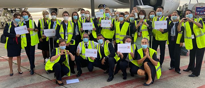 Air France and its staff taking action for Lebanon