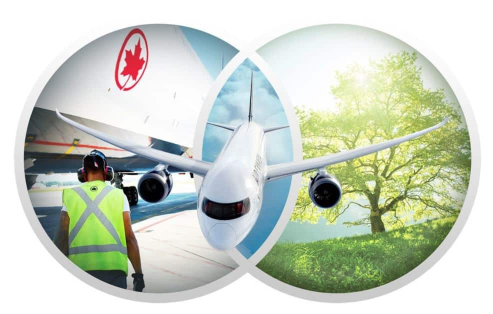Air Canada Releases Sustainability Report Highlightin