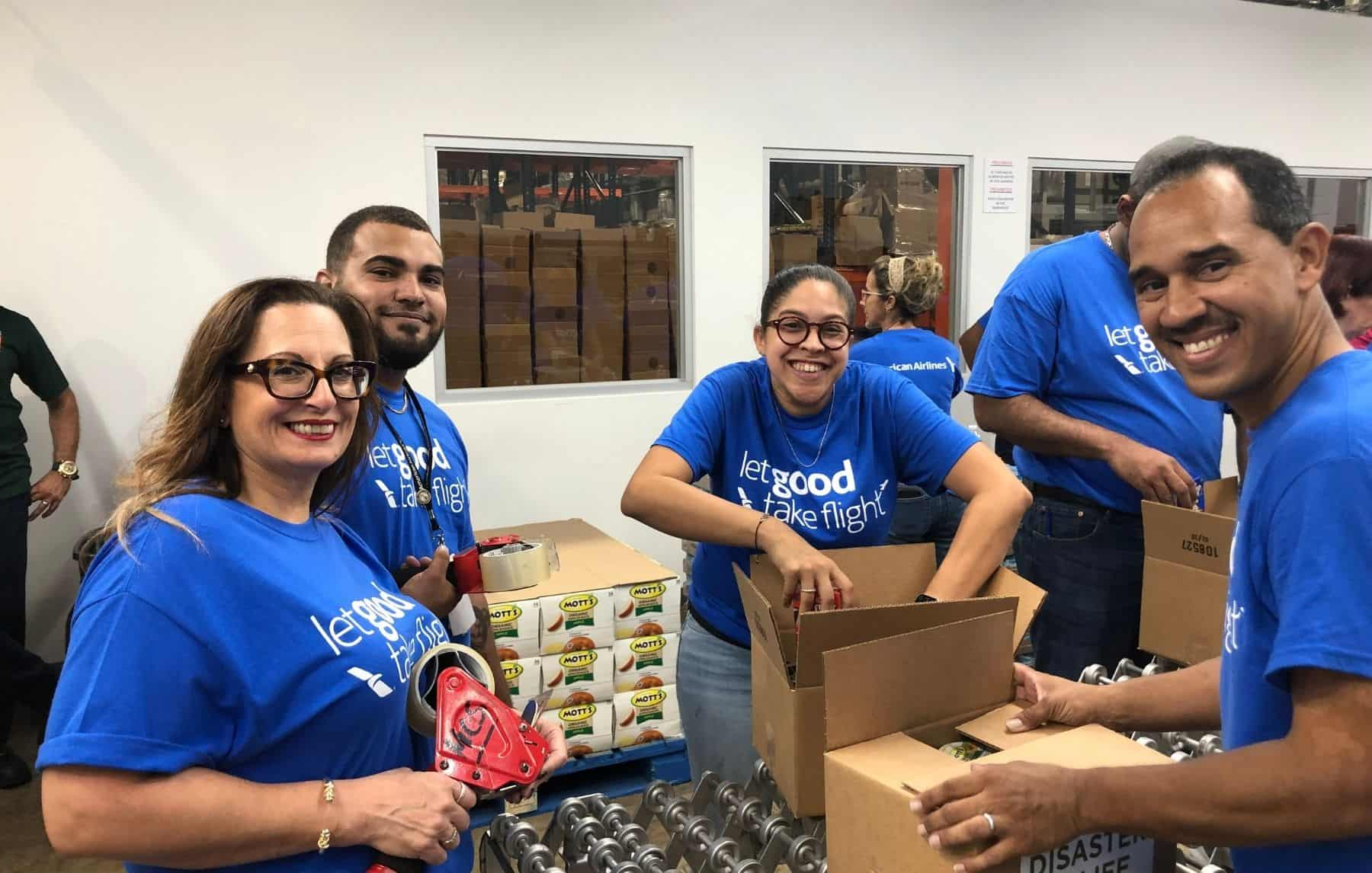 In March, San Juan team members volunteered at the local food bank to help pack more than 3,000 emergency food kits. Event was done in conjunction with Feeding America.