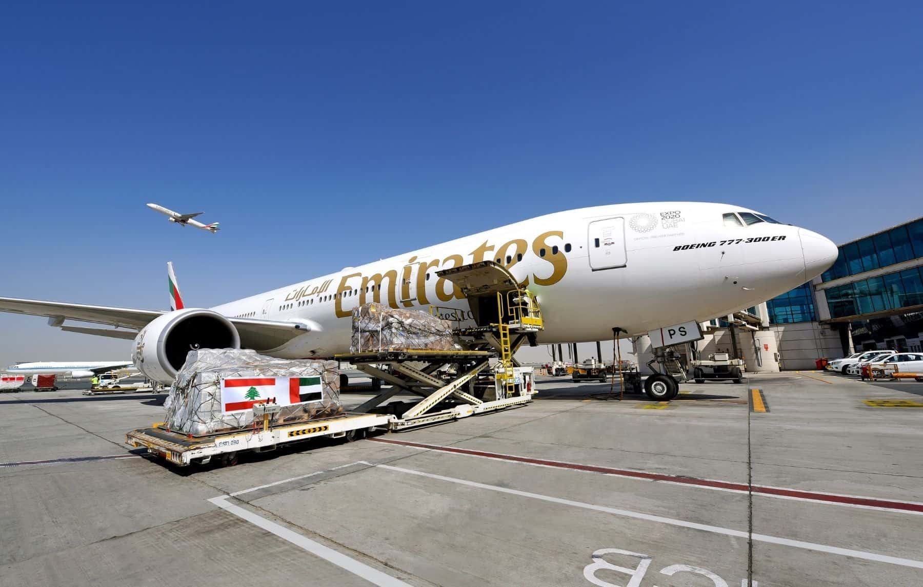 Emirates continues Beirut relief efforts through generosity of its customers, helping to transport more than 160,000 kilograms of vital aid and supplies