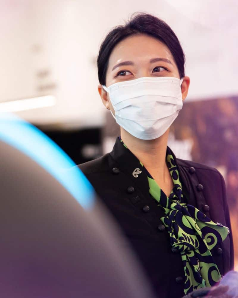 Air New Zealand continues to require masks onboard