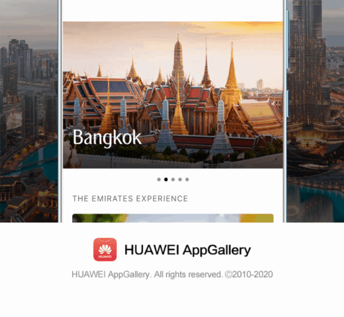 Emirates Collaborates with Huawei to Bring Enhanced Mobile App Experience and Benefits to Users