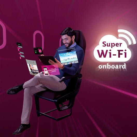 100th aircraft to feature high-speed 'Super Wi-Fi' connectivity