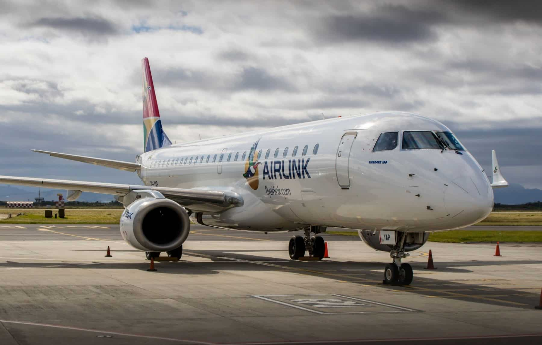 Airlink Embraer E190 Ejet