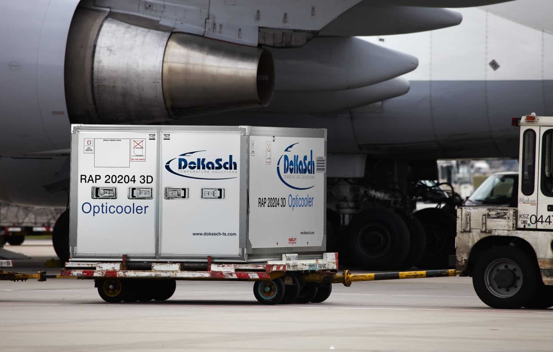 Delta Cargo's new high-tech cooler allows safer transportation of vaccines