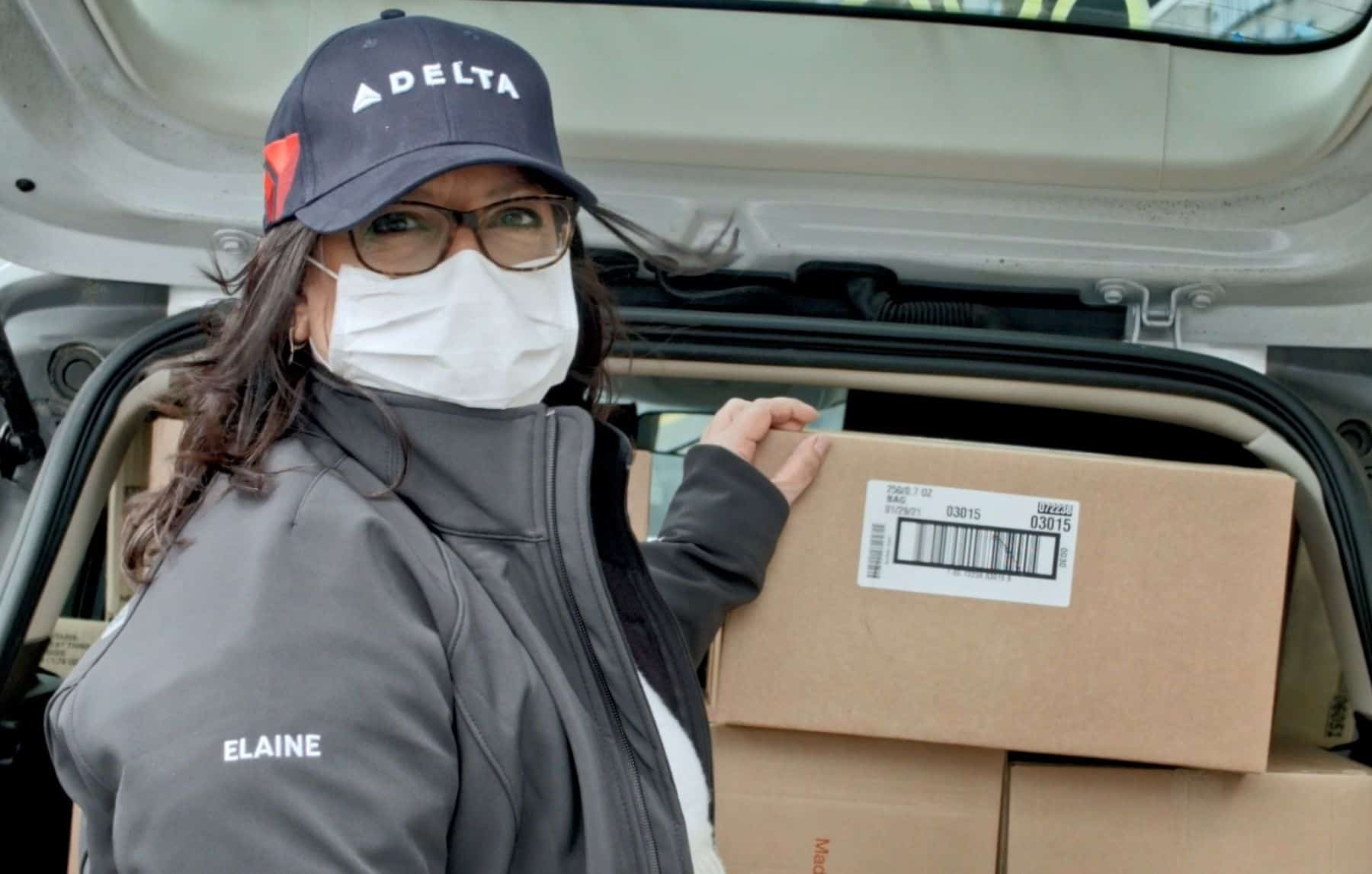 From disaster survivors to COVID warriors, Delta is there when communities need support