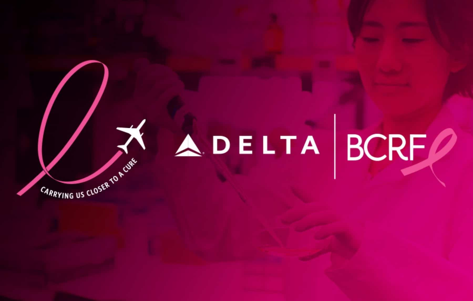 Here's how you can support Delta's breast cancer research fundraising efforts safely this year