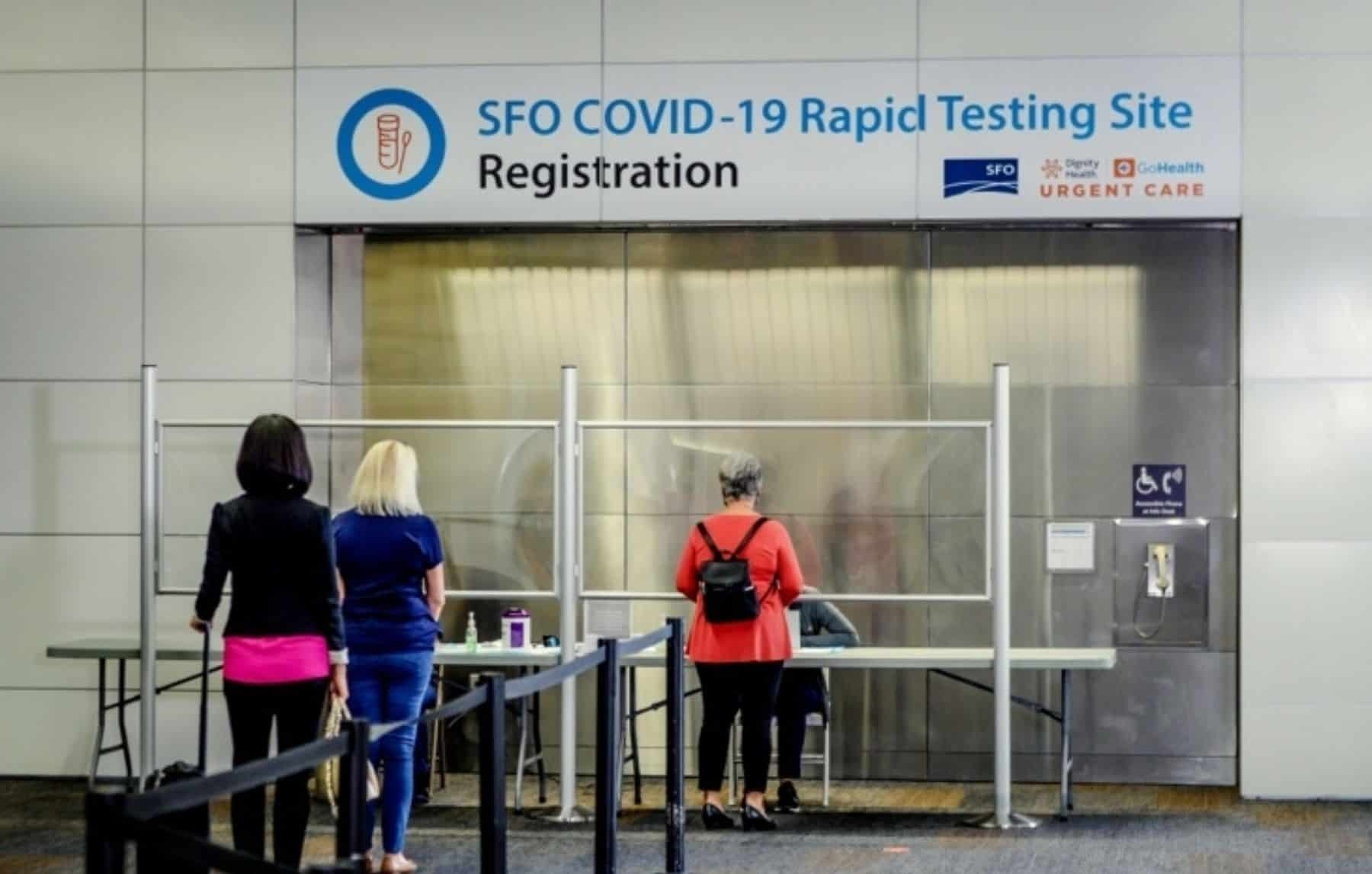 People headed to the airport will now have the option of getting their test done ahead of time, or waiting until the last minute—either by completing a self-collected mail-in test before their trip or taking a rapid