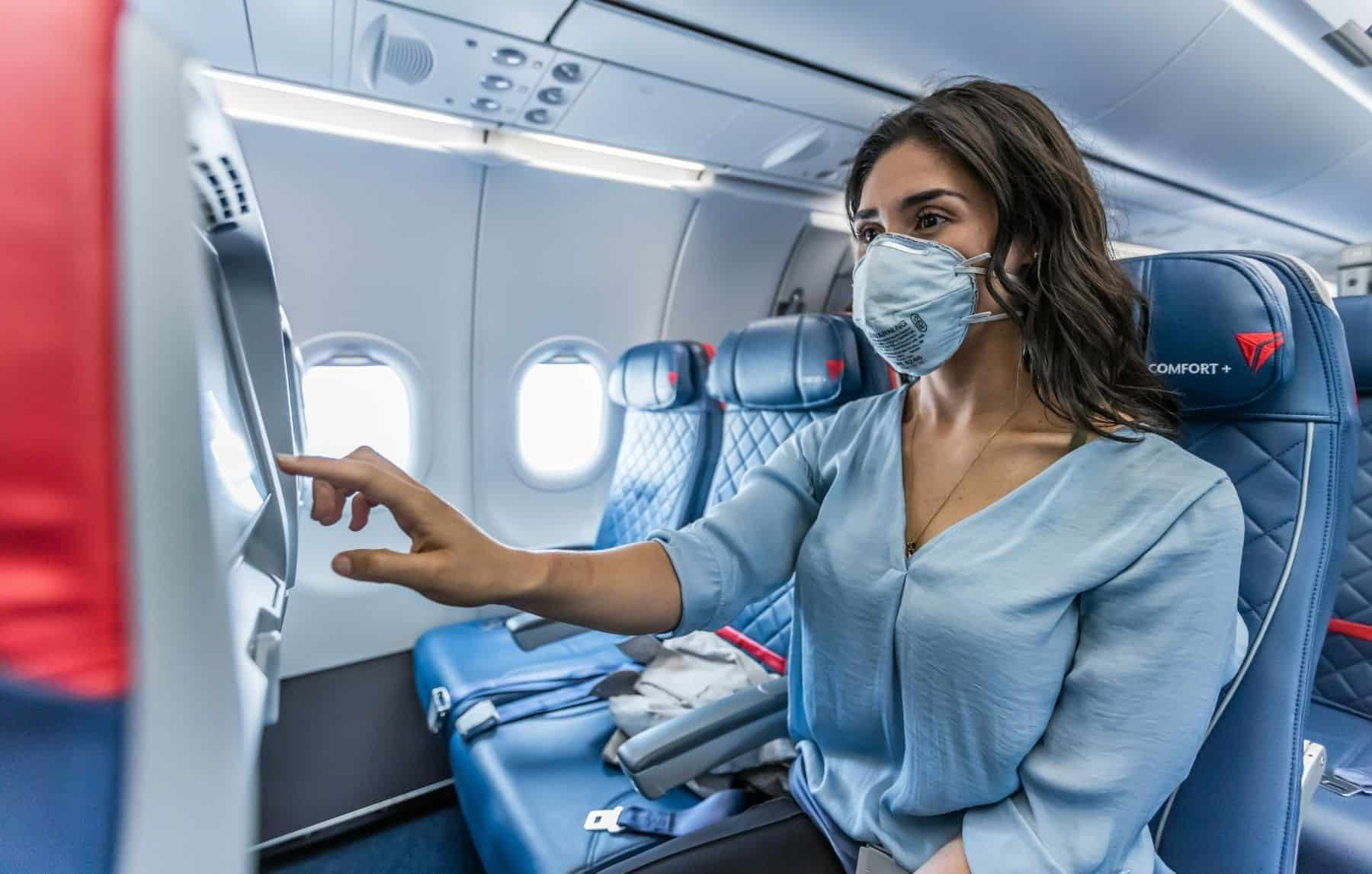 The air on Delta aircraft is completely refreshed every 2 to 6 minutes with fresh outside air or air that has been recirculated through industrial-grade HEPA filters.