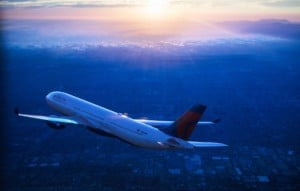 Delta Air Lines Airbus A330 inflight